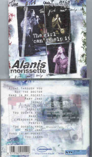 Alanis Morissette - The Girl Can't Help It ( KTS ) ( Baden Baden , Germany , October 13th , 1995 )