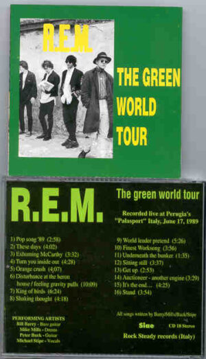 R.E.M. - The Green World Tour ( Perugia , Italy , June 17th , 1989 )