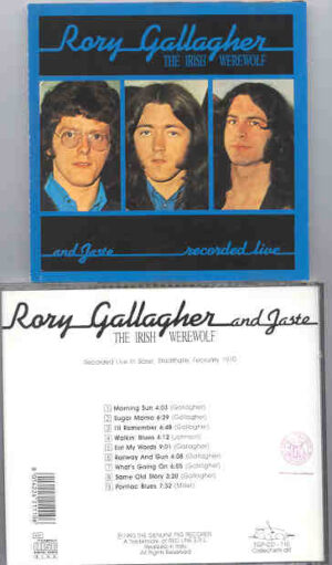 Rory Gallagher - The Irish Werewolf ( Swingin' Pig ) ( Basel , February 1970)