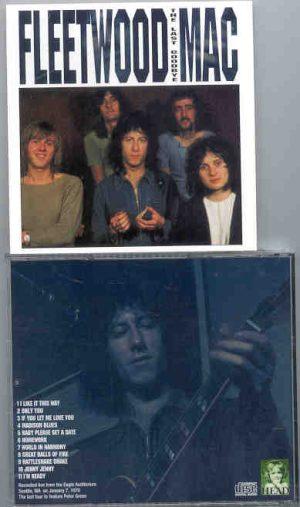 Lindsey Buckingham Fleetwood Mac - The Last Goodbye ( Eagle Auditorium , Seattle , WA , USA , January 7th 1970 )