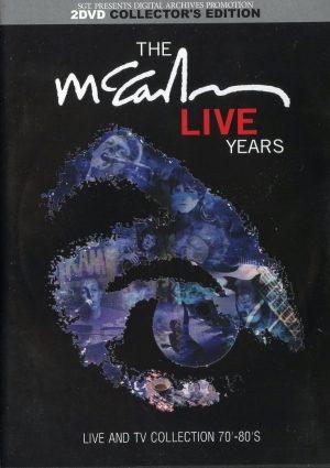 DVD Paul McCartney - The McCartney Live Years ( 2 DVD Set ) ( Live & TV Collection 70's & 80's )