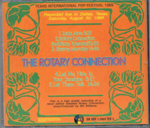 The Rotary Connection - Texas International Pop Fest ( Oh Boy )(Live In Dallas , Texas , USA , August 30th , 1969 )