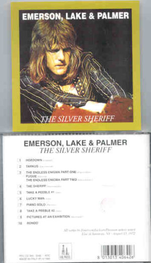 Emerson , Lake & Palmer - The Silver Sheriff  ( Oil Well ) ( Live in Saratoga , NY , August 13th , 1972 )