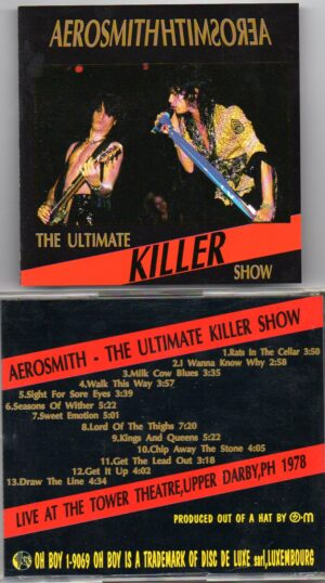 Aerosmith - The Other Side ( Live in Europe 1993 )( 2 CD!!!!! set )