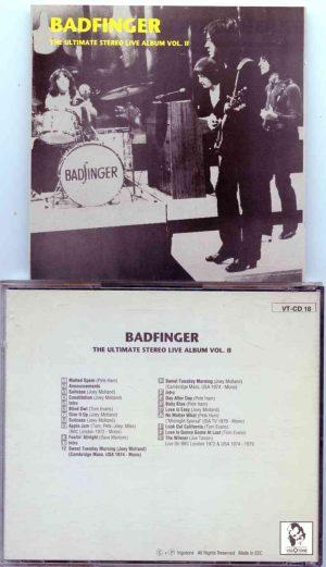 Badfinger - The Ultimate Stereo Live Album Vol II ( Vigotone )