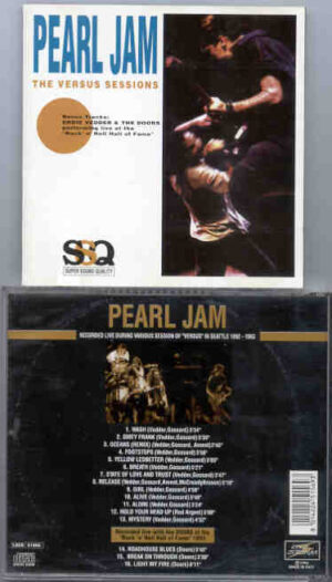 Pearl Jam - The Versus Sessions ( Seattle 1992 - 1993 )