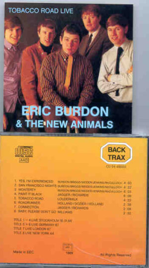 Eric Burdon and The Animals - Tobacco Road Live