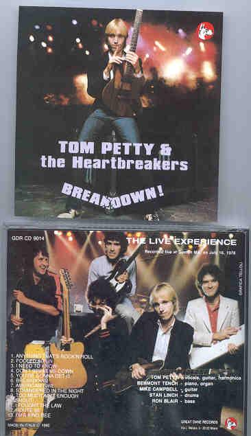 Tom Petty - Breakdown  ( Boston , MA , July 16th , 1978 ) ( Great Dane Recs )