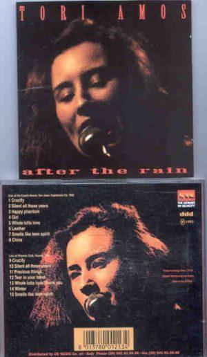 Tori Amos - After The Rain ( KTS ) ( Live in California , USA , 1992 , plus Bonustracks )