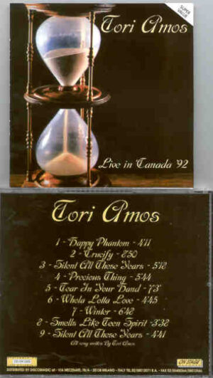 Tori Amos - Live in Canada 1992 ( On Stage )