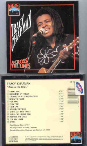 Tracy Chapman -  Across The Lines ( On Stage ) ( Live at Montreaux 1988 )