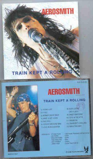 Aerosmith - Train Kept A Rolling ( Great Dane )