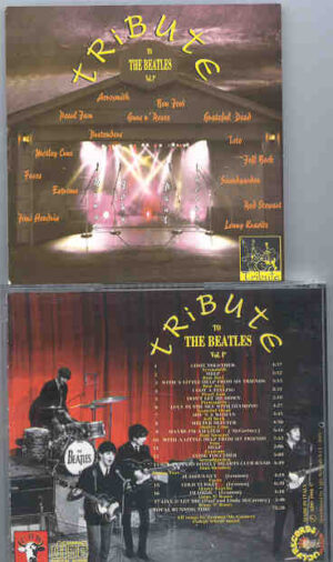 Various Artists - Tribute To The Beatles Vol 1  ( 17 Live Versions of Beatles Songs by MAJOR Artists )