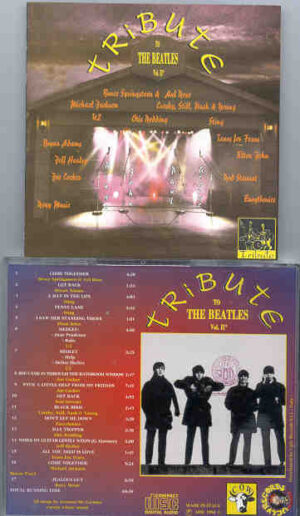 Various Artists - Tribute To The Beatles Vol 2  ( 17 Live Versions of Beatles Songs by MAJOR Artists )