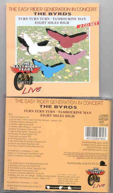 The Byrds - Turn Turn Turn ( 2 CD!!!!! SET ) ( Rare LIVE Tracks 67-70 )