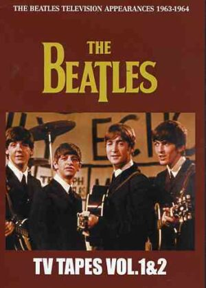 DVD The Beatles - T.V Tapes Vols 1 & 2 ( 2 DVD set ) ( Television Appearance 1963 - 1964 )