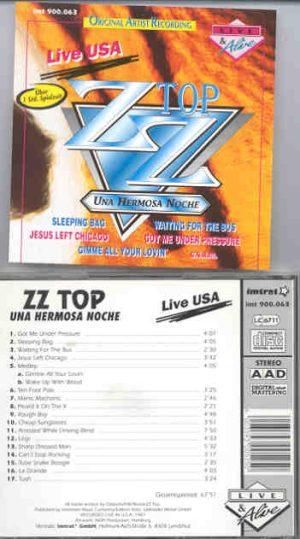 ZZ TOP - Una Hermosa Noche ( Live in the USA , 1987 )