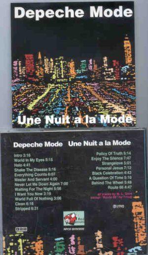Depeche Mode - Une Nuit A La Mode ( 2 CD!!!!! set ) ( Great Dane )