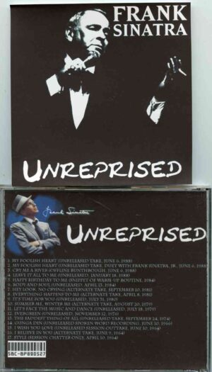Frank Sinatra - Unreprised ( 18 Unreleased Studio Outtakes and Alternate Takes )
