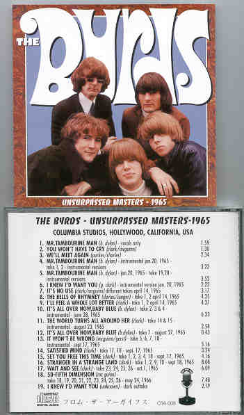 The Byrds - Unsurpassed Masters 1965