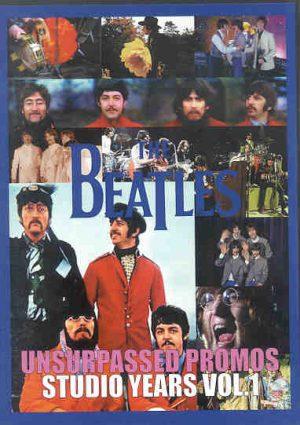 DVD The Beatles - Unsurpassed Promos Tour Years Vol 1