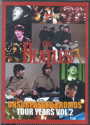DVD The Beatles - Unsurpassed Promos Tour Years Vol 2