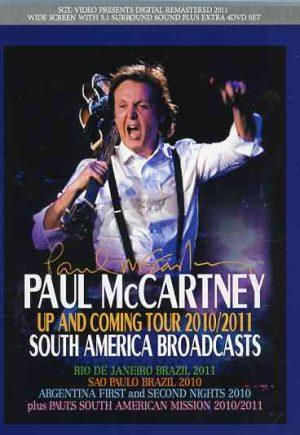 DVD Paul McCartney - South America Broadcasts ( 4 DVD SET ) ( Rio de Janeiro 2011 , Sao Paulo 2011 , Argentina 2011 , 1st & 2nd night )