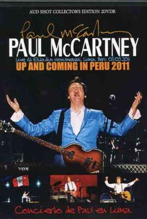 DVD Paul McCartney - Up & Coming in Peru 2011 ( 2 DVD SET )