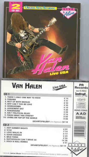 Van Halen - Live USA ( 2 CD!!!!! set )