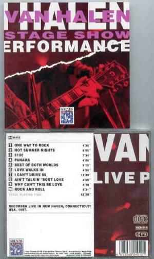Van Halen - Stage Show ( LIVE In New Haven , Connecticut , USA , 1987 )