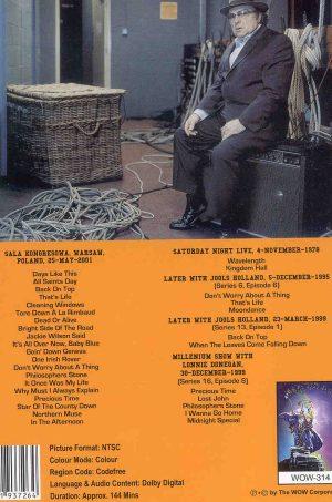 DVD Van Morrison - Going Down Warsaw