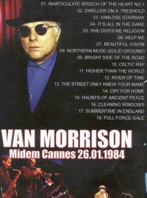 DVD Van Morrison - Midem Cannes , January 26th , 1984
