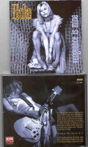 Nirvana - HOLE Vengeance Is Mine ( Reading Festival , UK , August 25th , 1995 plus Bonustracks ) ( KTS )