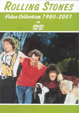 DVD The Rolling Stones - Video Collection 1980 - 2001
