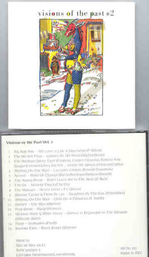 Various Artists - Visions From The Past  ( Early British Psychedelia )