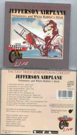 Jefferson Airplane - Volunteers & White Rabbit's Slick  ( Live late 60's )