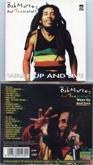 Bob Marley - Wake Up And Live ( 2 CD!!!!! set ) ( KTS ) ( Rotterdam July 7th , 1978 & Santa Monica , August 9th , 1978 )