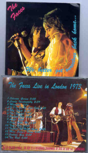 The Face / Rod Stewart - We Better Get Ourselves Back Home ( Oh Boy Recs ) ( Live in London , UK , 1973 )