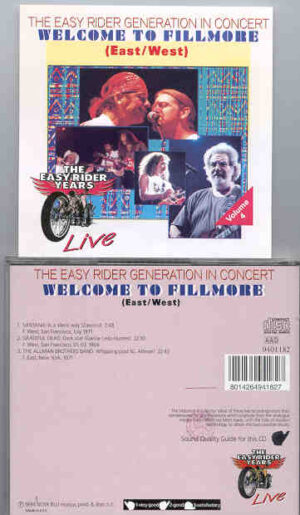 Various Artists - Welcome To Fillmore ( East / West )