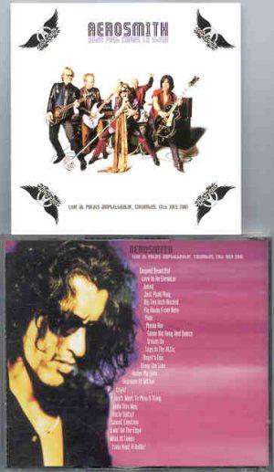 Aerosmith - When Push Comes To Shove ( Palais Amphitheater , Columbus , July 11th , 2001 )( 2 CD!!!!! set )