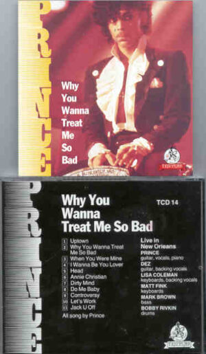 Prince - Why You Wanna Treat Me So Bad ( Templar )