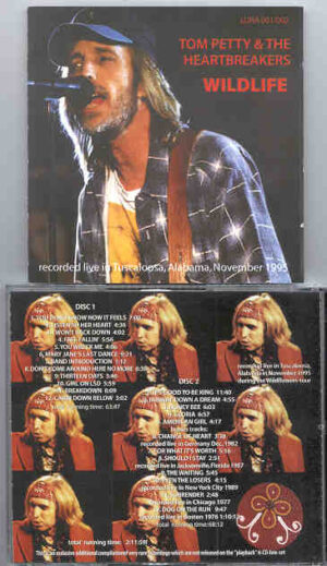Tom Petty - Wildlife ( 2 CD!!!!! set ) ( Live at Tuscaloosa , Alabama , USA , November 1995 + Bonustracks)
