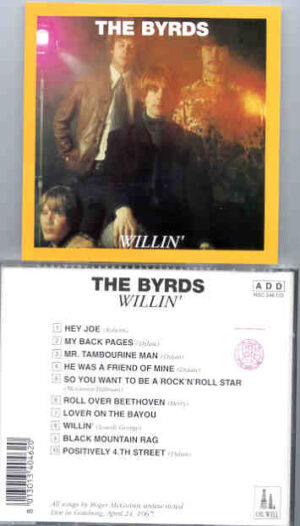 The Byrds - Willin' ( Oil Well )  ( Live In Goteborg , April 24th , 1967 )