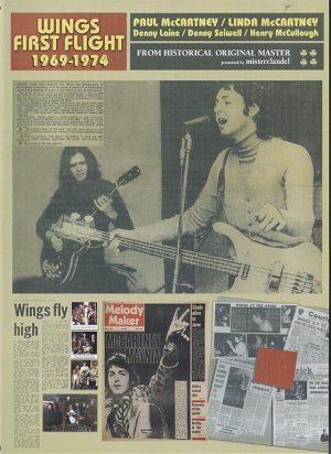 DVD Paul McCartney - Wings First Flight 1969 - 1974 ( Misterclaudel )