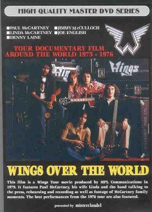DVD Paul McCartney - Wings Over The World ( Misterclaudel )