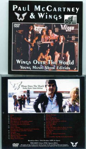 DVD Paul McCartney - Wings Over The World ( Young Music Show Edition )