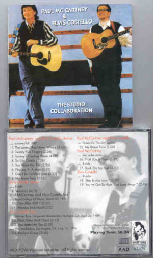 Elvis Costello - Studio Collaboration ( With Paul McCartney ) ( Vigotone )