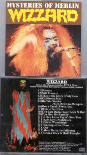 Roy Wood - Wizzard - Mysteries Of Merlin ( Tendolar )