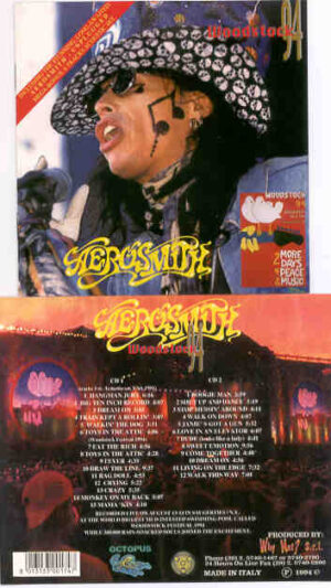 Aerosmith - Woodstock 1994 ( 2 CD!!!!! SET ) ( Octopus )