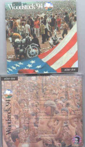 Various Artists - Woodstock 94  ( 2 CD!!!!! set ) ( Nine/Ten ) ( Baby Capone )